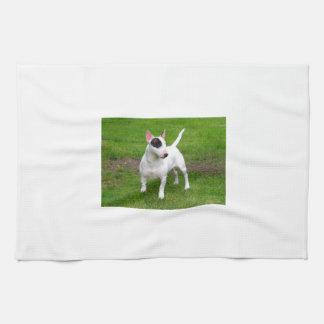 American Pit Bull Terrier Dog Hand Towel