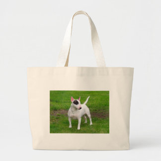 American Pit Bull Terrier Dog Large Tote Bag