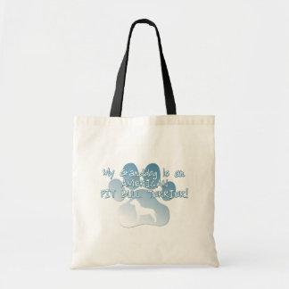 American Pit Bull Terrier Granddog Tote Bag