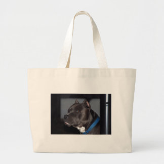 American Pit Bull Terrier Large Tote Bag