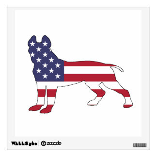 American Pit Bull Terrier Wall Sticker