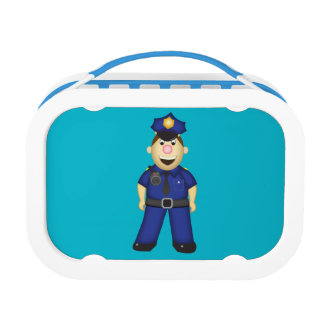 American Policeman Lunch Box