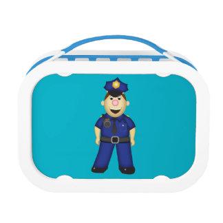 American Policeman Lunch Box