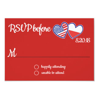 American Polish Love Response Card