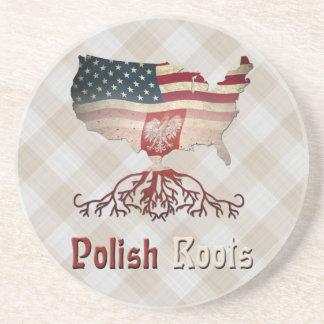 American Polish Roots Coaster