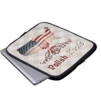 American Polish Roots Laptop Bag