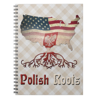 American Polish Roots Notepad Notebooks