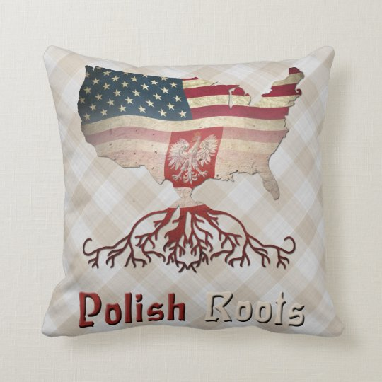 American Polish Roots Pillows