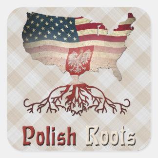 American Polish Roots Sticker Sheet