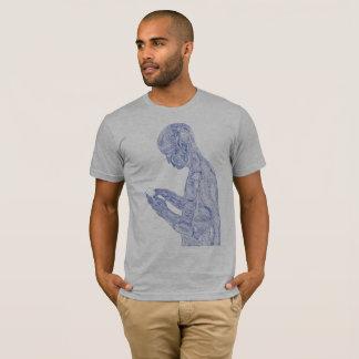 American Prayer (heather grey w/ navy) T-Shirt