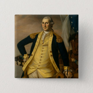 American President: George Washington 2 Inch Square Button