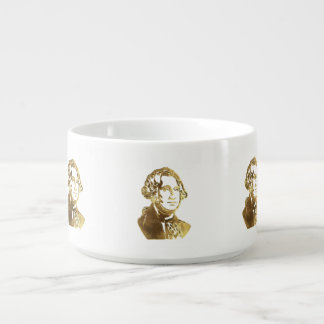 American President George Washington Portrait Gold Bowl