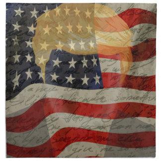American president napkin