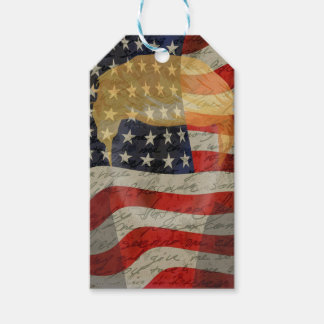 American president pack of gift tags