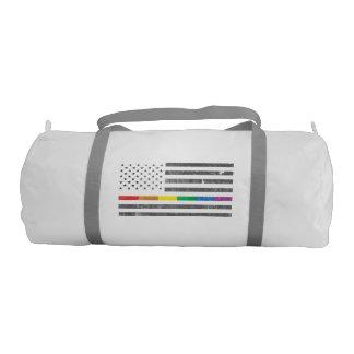 American Pride Flag Duffel Bag