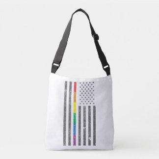 American Pride Flag Sling Bag