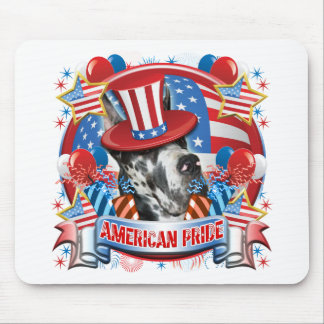 American Pride Great Dane Mouse Pad