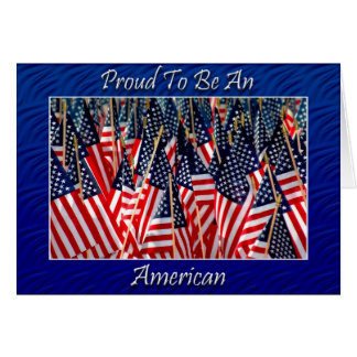 American Pride Note Card