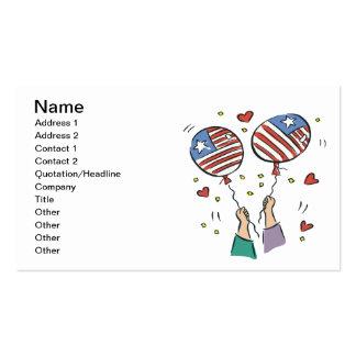 American Pride Pack Of Standard Business Cards