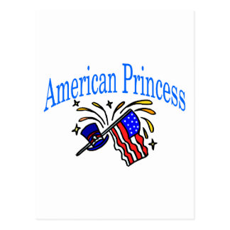 American Princess Postcard