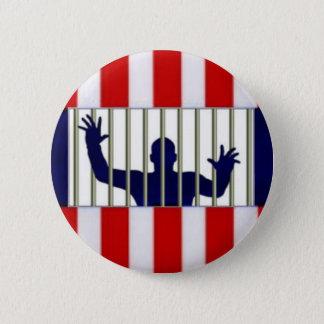 American Prison 2 Inch Round Button