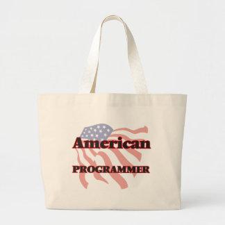 American Programmer Large Tote Bag