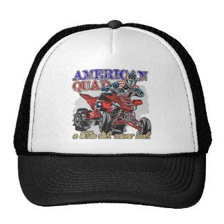 American Quad Trucker Hat
