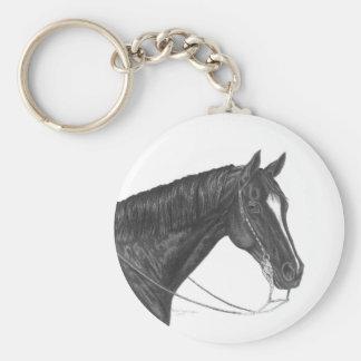 American Quarter Horse Keychain