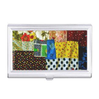 American Quilt Design Business Card Holder
