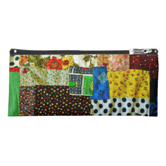 American Quilt Design Pencil Case