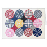 American Quilt Notecards - Blank message inside Stationery Note Card