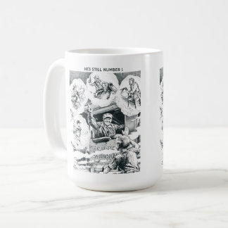 American Railroad Train Engineer Coffee Mug