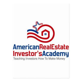 American Real Estate Investors Academy Logo Gear Postcard