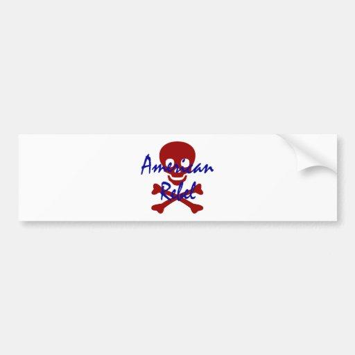 American Rebel Bumper Stickers