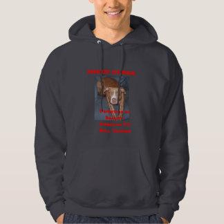 American RED NOSE BEAUTY Hooded Sweatshirt