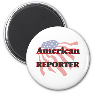 American Reporter 2 Inch Round Magnet