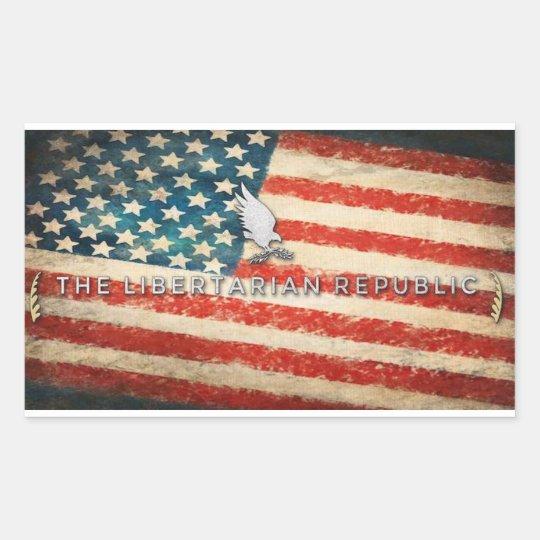 American Republic Bumper Sticker