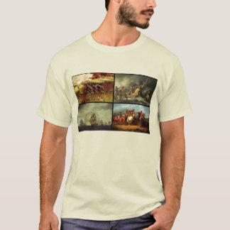 American Revolutionary War collage T-Shirt