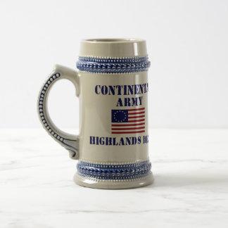 American Revolutionary War Decorative Stein Coffee Mugs