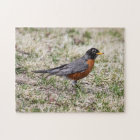 American Robin Jigsaw Puzzle
