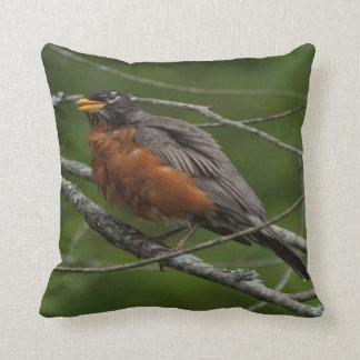 American Robin Photo #2 Throw Pillow