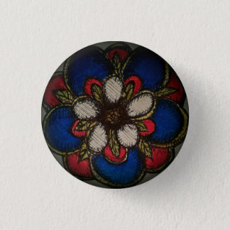 American Rose of Reconciliation 1 Inch Round Button