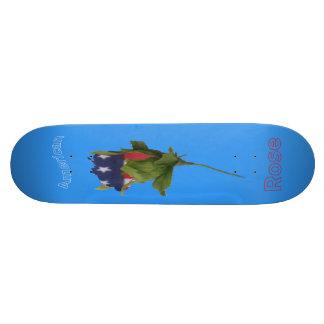 """ American Rose ' Skateboard Deck"