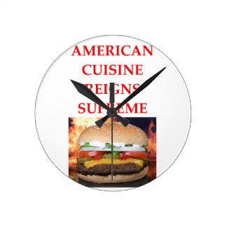 AMERICAN ROUND CLOCK