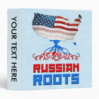 American Russian Roots Binder