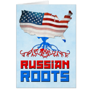 American Russian Roots Cards