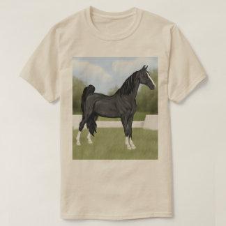 American Saddle-bred Black Horse T-Shirt