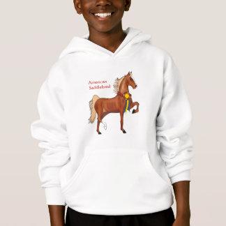American Saddlebred Girls Hooded Sweatshirt