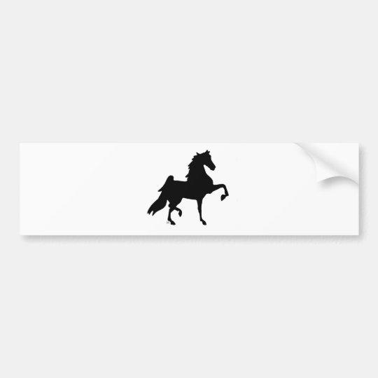 American Saddlebred Horse Bumper Sticker