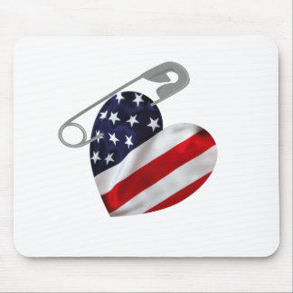 American Safety Pin Mouse Pad